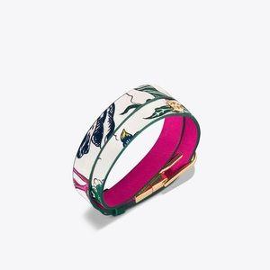2x HP🎉Tori Burch Happy Times Double Wrap Bracelet